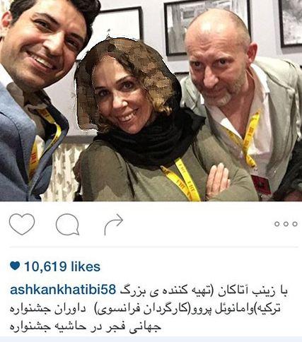 اشکان خطیبی در جشنواره جهانی فجر+تصاویر