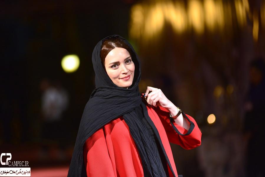 عکسهای بهنوش طباطبایی همسر مهدی پاکدل ، در جشن خانه سینما +تصاویر