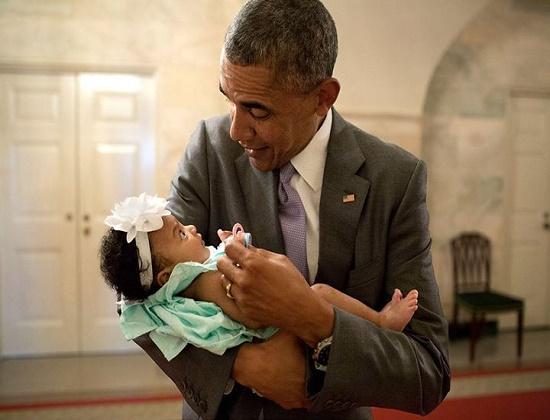 دوست جدید اوباما + عکس