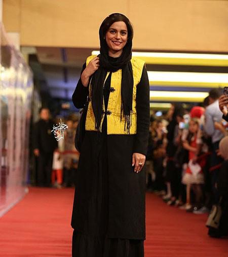 غزل شاکری در مراسم اختتامیه سریال شهرزاد!+تصاویر