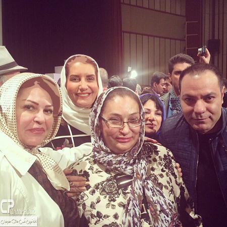 بازیگران زن در مراسم تجلیل از محمدعلی کشاورز+تصاویر