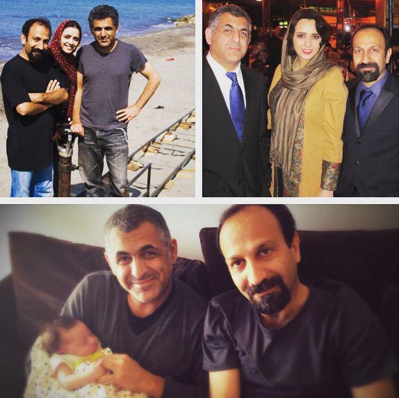 ترانه علیدوستی : تا عمر دارم شما خانواده ی من، و عزیز منید!+عکس