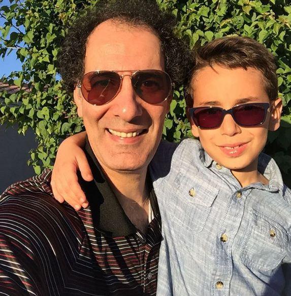 بهنام تشکر در کنار پسرش کاوه!+عکس