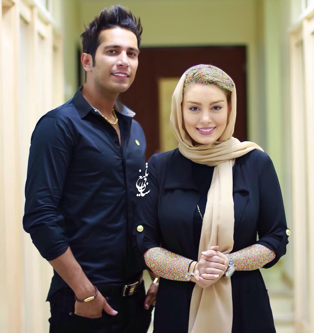 سحر قریشی بازیگر سینما در کنار همسرش!+عکس