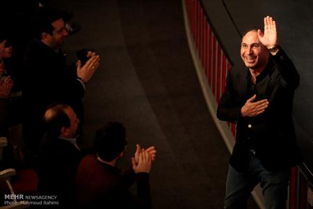 تقدیر از اصغر فرهادی در کنسرت موسیقی + تصاویر
