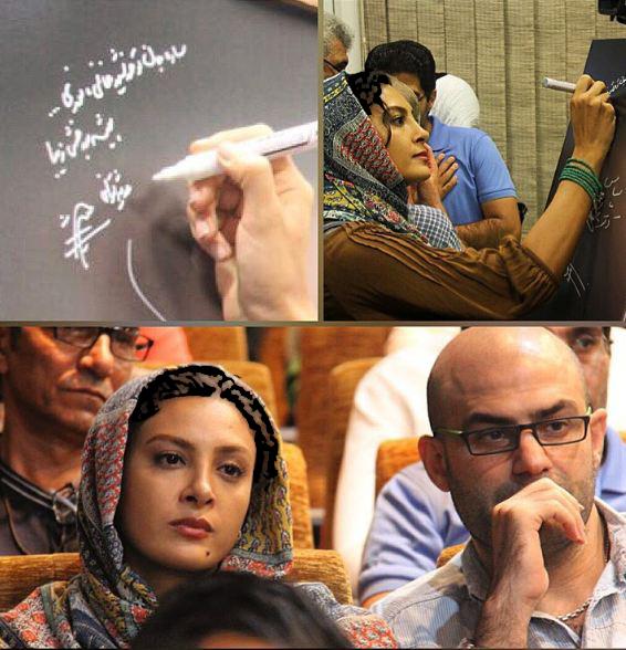 تازه ترین عکسهای حدیثه تهرانی و همسرش!+تصاویر