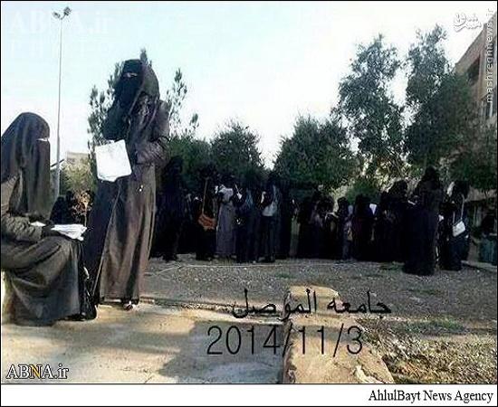 دانشگاه دخترانه موصل پس از حضور داعش+ عکس