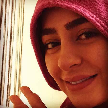 «سمانه پاکدل» در چالش عکس بدون آرایش!+عکس