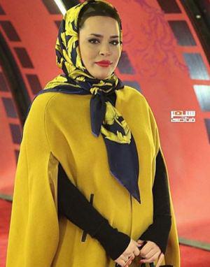 آزاده صمدی و ملیکا شریفی نیا در کاخ جشنواره فیلم فجر+تصاویر