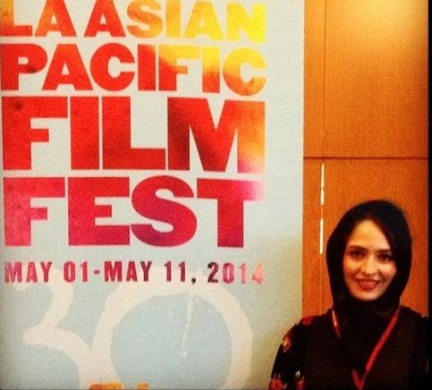 تیپ جالب بازیگر زن ایرانی در آمریکا+تصاویر