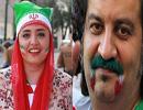 صفحه شخصی مهراب قاسمخانی و نرگس محمدی در روز توافق هسته ای!