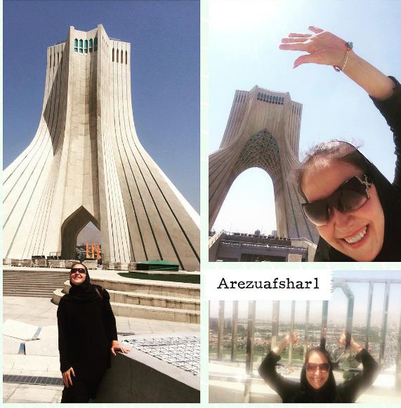 پارمیدا دختر آرزو افشار و اولین نمایش زندگیش!+تصاویر