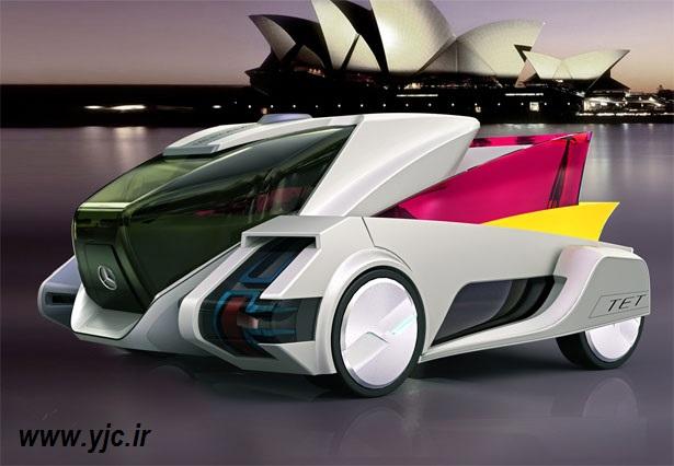 پیچیده ترین خودروی آینده +تصاویر
