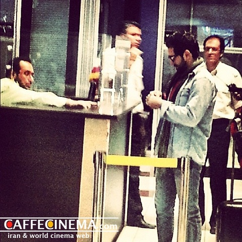 لحظهی بازگشت بهرام رادان پس از ۱۶ ماه به ایران + عکس