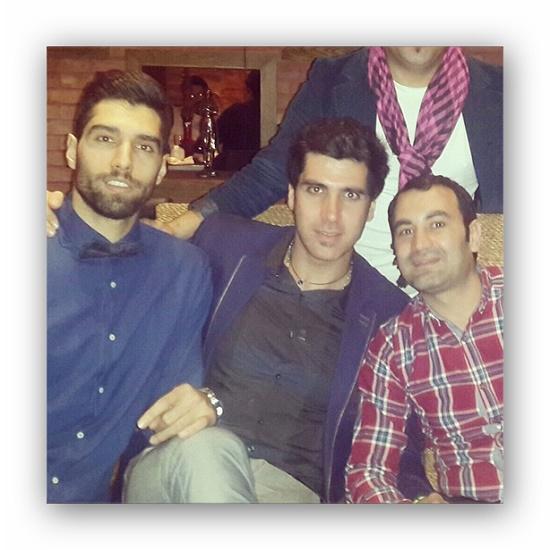 سید محمد موسوی و شب مرموز والیبالیستها + عکس