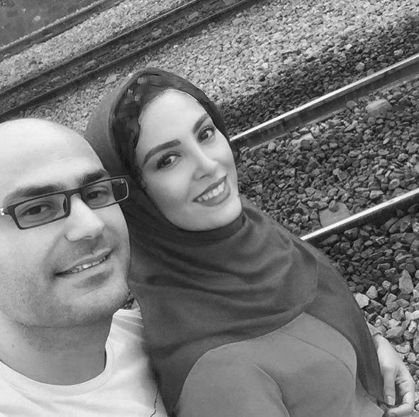 عکسهایی جدید و دیدنی از حدیثه تهرانی و همسرش!+تصاویر