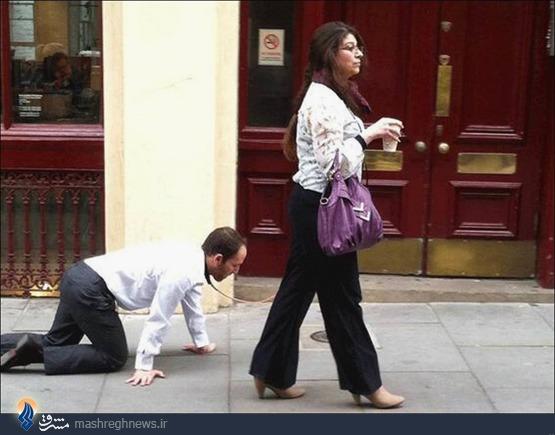 مردی که سگ شد +عکس(حتما ببینید)!