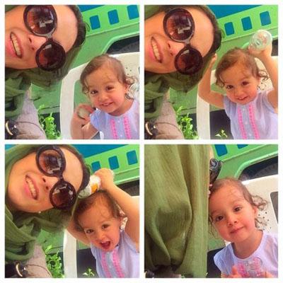 آرزوی ترسناک ترانه علیدوستی برای دخترش!+عکس