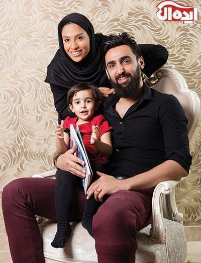 گفتگو با پوریا فیاضی و همسرش مهتا محمدی دو والیبالیست ملی و باشگاهی کشورمان+تصاویر