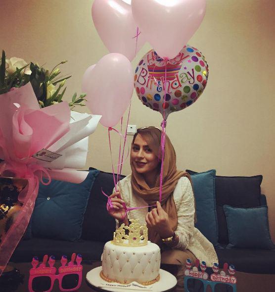 عکسهایی تماشایی از جشن تولد سمانه پاکدل!+تصاویر