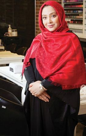 مریم سلطانی از شغل دومش یعنی آرایشگری می گوید+تصاویر