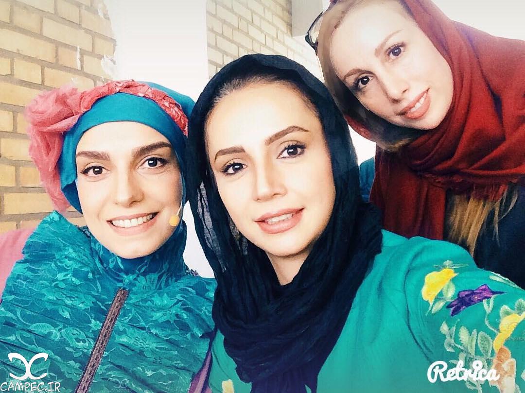 حضور شبنم قلی خانی بازیگر بی حاشیه کشور در برنامه دورهمی!+تصاویر