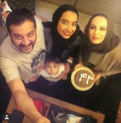 داستان ازدواج شقایق دهقان و همسرش مهراب+تصاویر