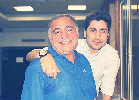 افراد مشهور ایرانی همراه با پسرهایشان+تصاویر