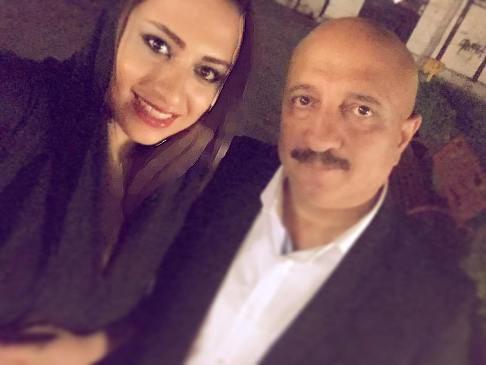 سلفی مسعود روشن پژوه مجری تلویزیون و دخترش!+عکس