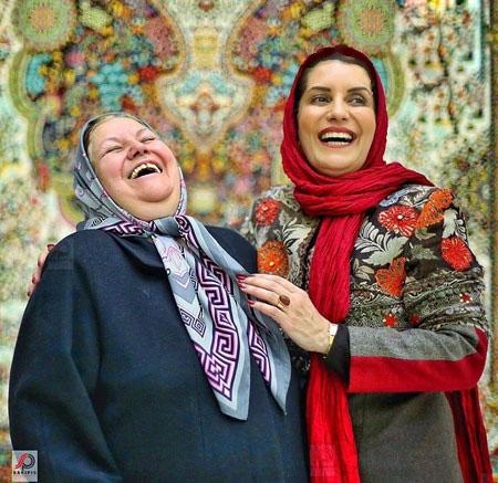 خنده های پرانرژی فریبا کوثری بازیگر توانای کشورمان+تصاویر