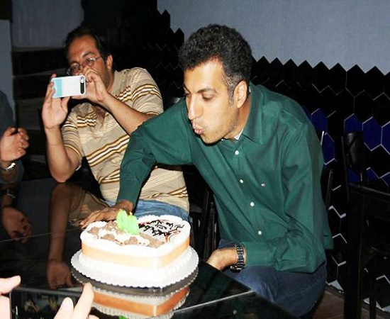 جشن تولد ۴۰ سالگی فردوسیپور + عکس