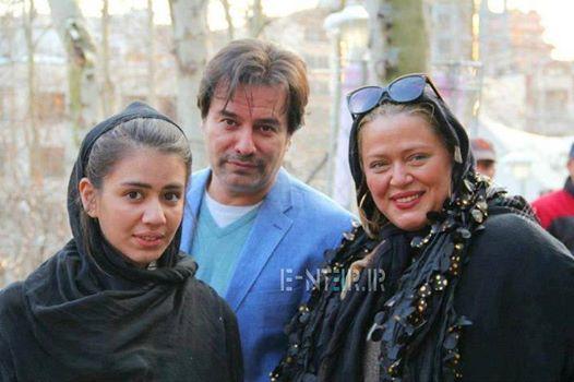 عکس جدید بهاره رهنما به همراه همسر و دخترش
