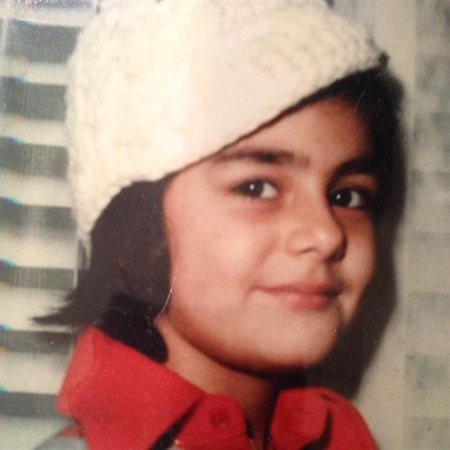 عکسهایی جالب از کودکی «هنگامه قاضیانی»+تصاویر