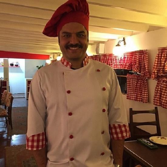 سرآشپز سام درخشانی + عکس