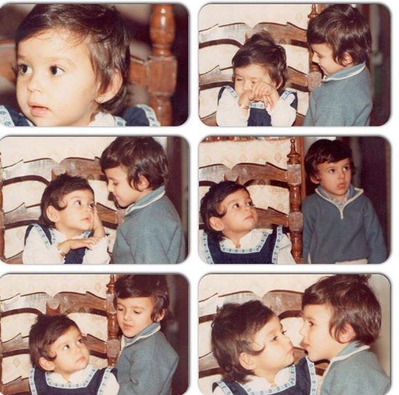 داستان مصور پرستو صالحی و برادرش!+تصاویر