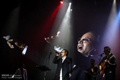 کنسرت فرزاد فرزین و شهرام شکوهی در جشنواره موسیقی فجر+تصاویر
