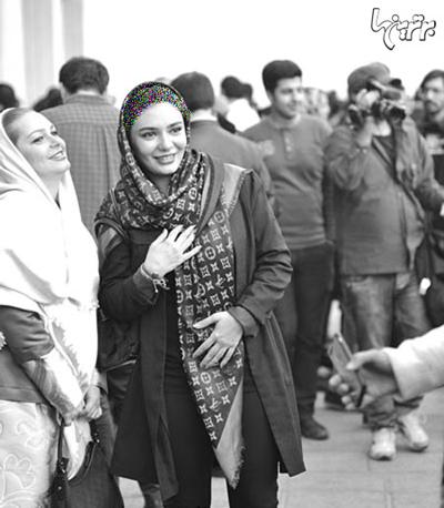 تیپ لیندا کیانی در جشنواره فیلم فجر ۹۳ +عکس