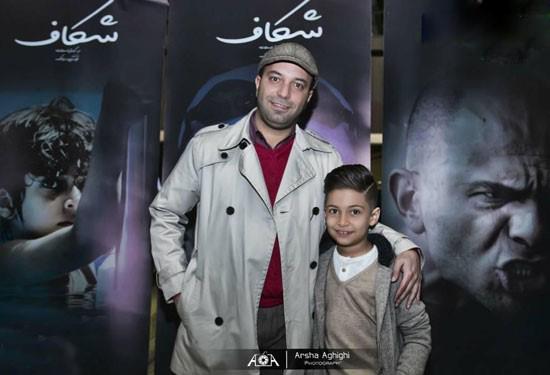 پسر کامران نجف زاده با پدرش و سحر دولتشاهی+تصاویر