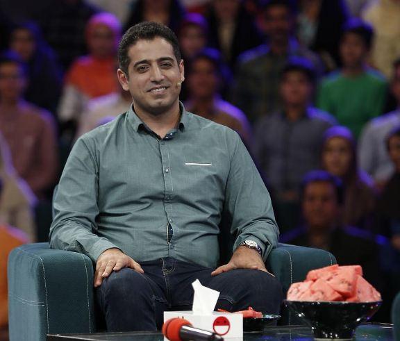 رامبد جوان شاگرد استاد بزرگ شطرنج ایران شد!+تصاویر