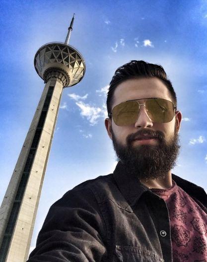 عینک عجیب و غریب محسن افشانی!+تصاویر