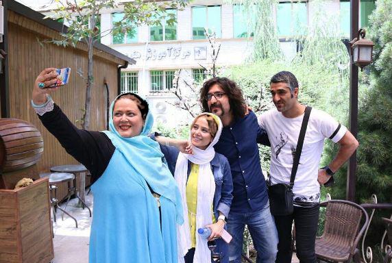 الناز حبیبی و بهاره رهنما در« دوباره اون آهنگ رو بزن سَم»!+تصاویر