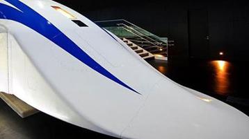قطار با سرعتی به اندازه یک هواپیما در ژاپن را ببینید!+تصاویر