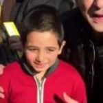 کودک معروف معترض فضای مجازی به آرزویش دست یافت!+تصاویر