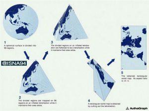 دقیق ترین نقشه جهان
