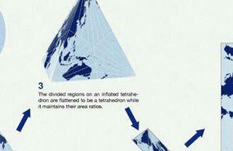 دقیق ترین نقشه جهان توسط ژاپنیها طراحی شد!+تصاویر