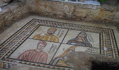 موزاییک های ۱۸۰۰ ساله تازه کشف شده در ترکیه!+تصاویر