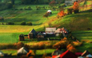 پاییز زیبا و حیرت انگیز را در کشور رومانی ببینید!+تصاویر