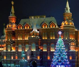جشن کریسمس در مسکو پایتخت کشور پهناور روسیه!+تصاویر