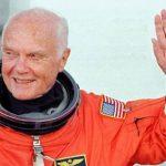 اولین فضانورد آمریکایی در سن ۹۵ سالگی درگذشت!+تصاویر