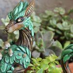 باغچه های مینیاتوری و تزیین با اژدهایی که نگهبان جنگل هستند!+تصاویر